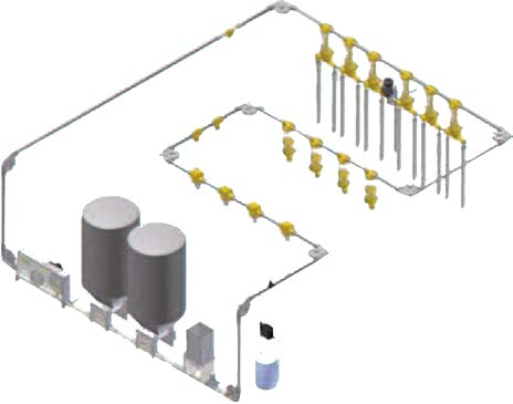 Система раздачи сухого корма DALTEC