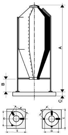 Стекловолоконные силосы AGRITECH (ИТАЛИЯ)
