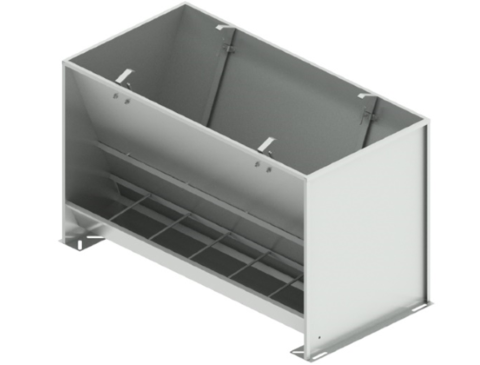 Bunker type feeder 2-sided 12-section for growing-finishing 275 liters