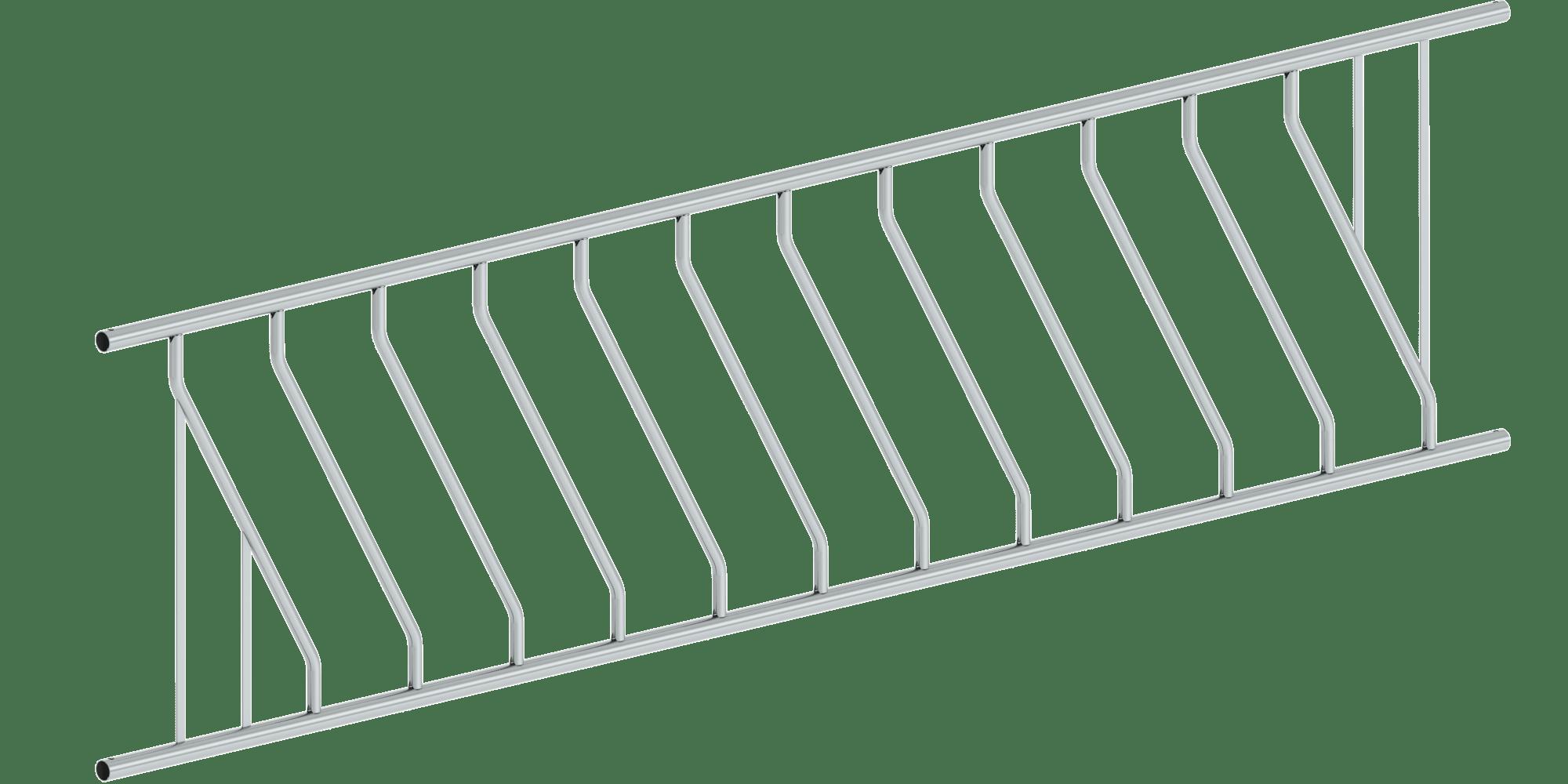Feed diagonal lattice