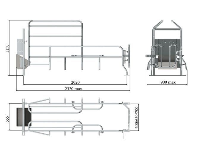 Верстат для опоросу Тип 25