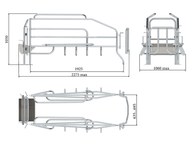 Верстат для опоросу Тип 27