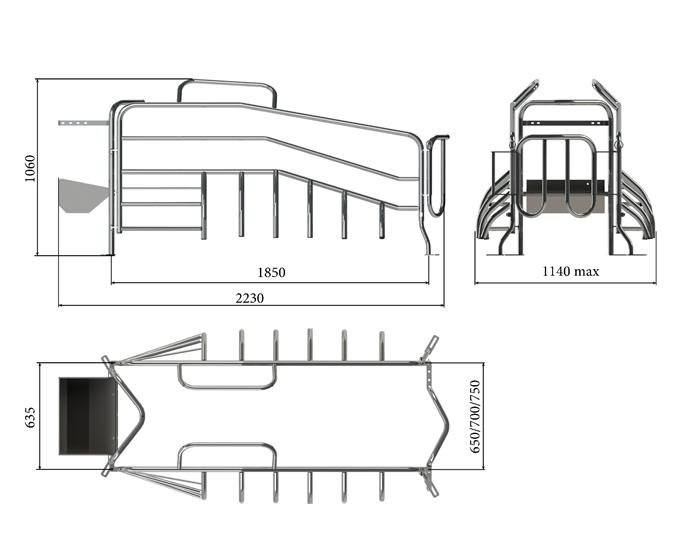 Верстат для опоросу Тип 9