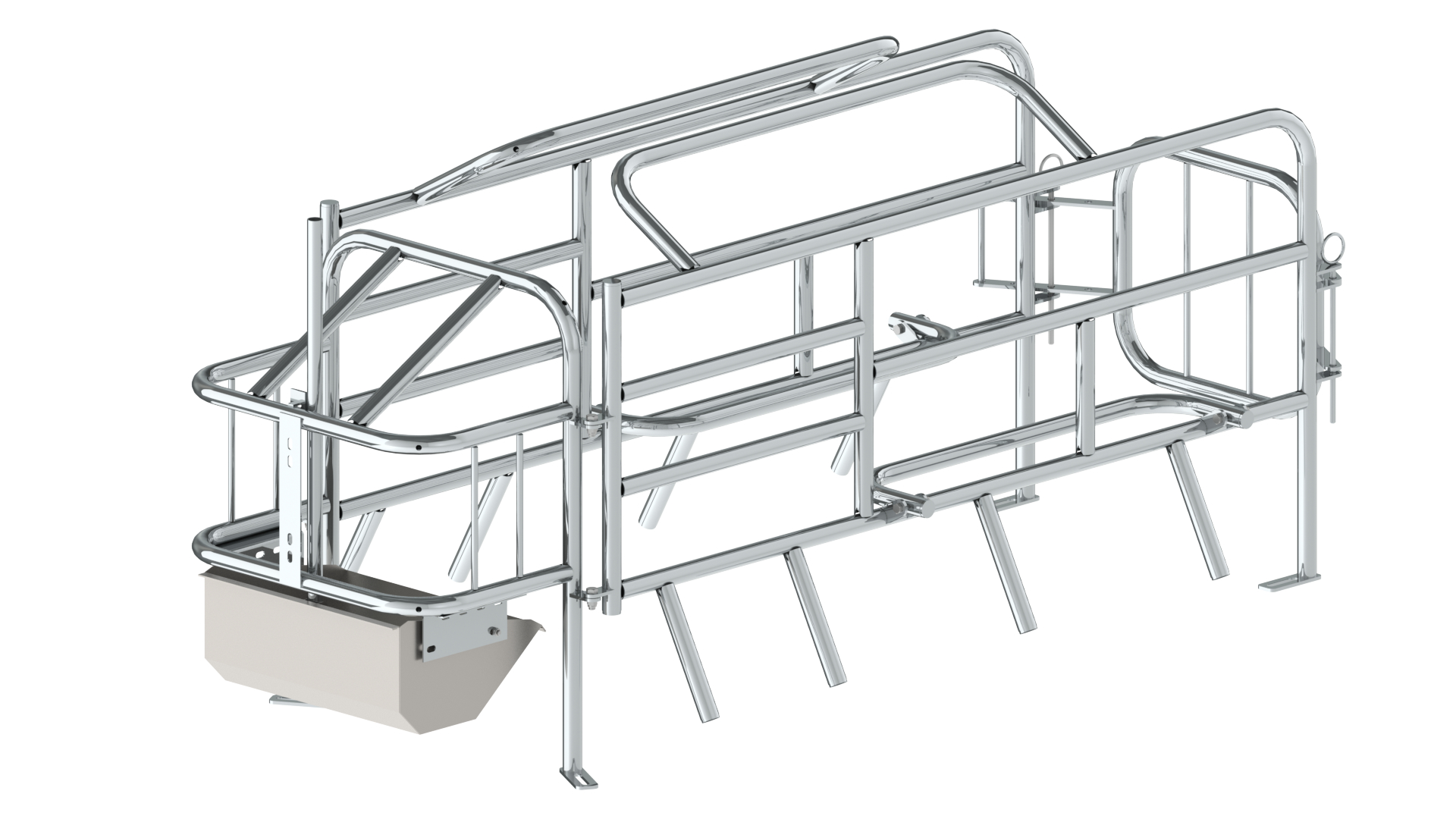 Farrowing stall Type 22