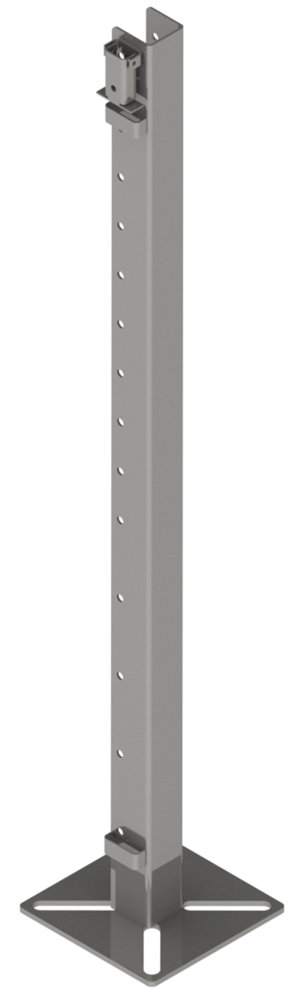 Кронштейны для клеток из пластикового ПВХ профиля