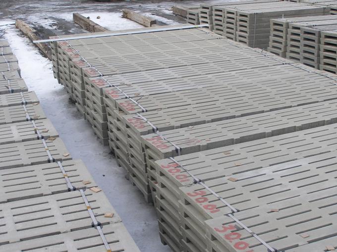 Щілинні підлоги з бетону