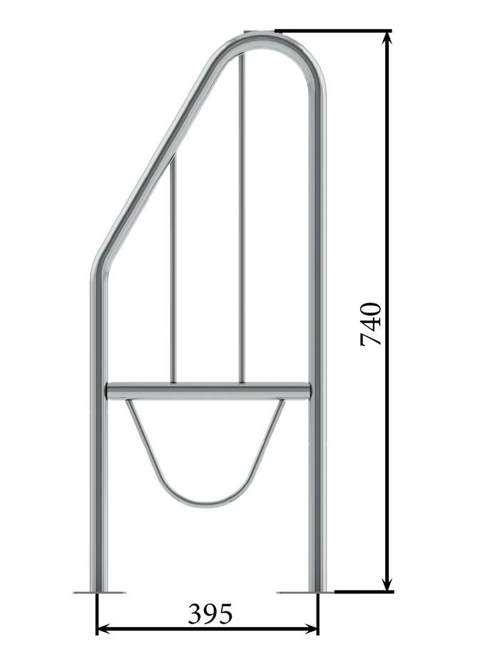 Металлическая клетка с перегородкой РП-2-7,5