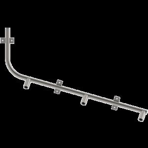 Труба напування на три поїлки для дорощування